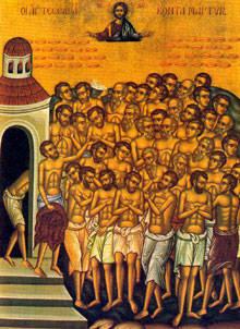 Ce-sarbatorim-pe-9-martie--Sfintii-40-de-Mucenici-din-Sevastia