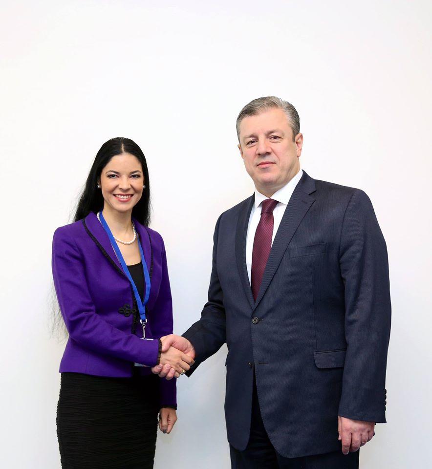 Întâlnirea cu viceprim-ministrul și ministrul Afacerilor Externe, domnul Giorgi Kvirikashvili