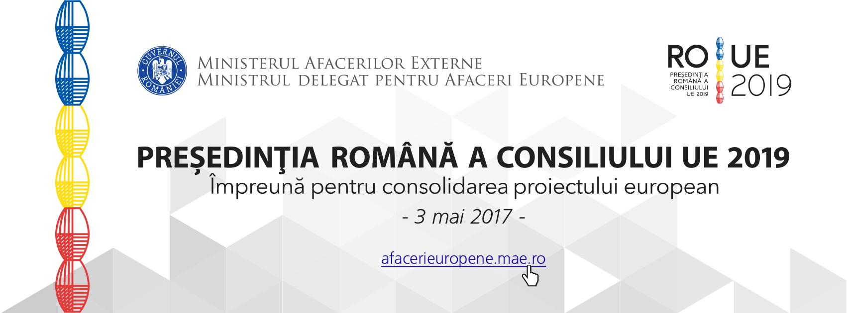 Împreună pentru consolidarea proiectului european