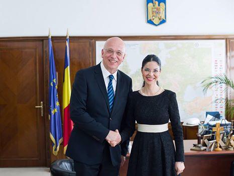 Întrevedere cu ambasadorul Republicii Federale Germania