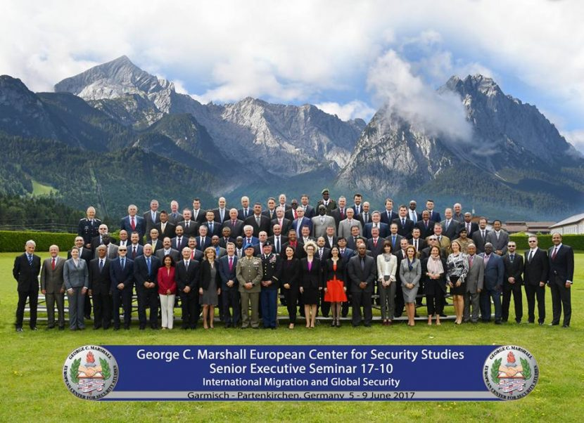 """A început conferința cu tema """"Cooperarea în domeniul securității și migrației"""" de la Garmisch Partenkirchen"""