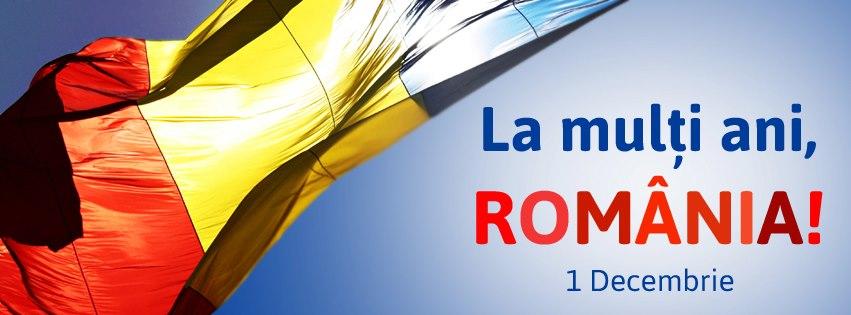 1 Decembrie – La mulţi ani, România!