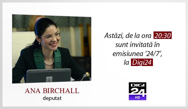 Emisiune Digi24 – 10 noiembrie