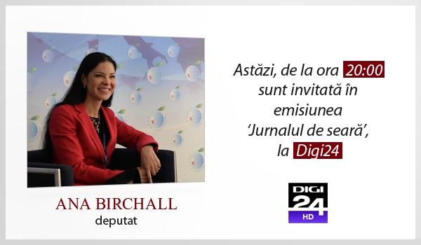 Emisiune Digi24 – 1 noiembrie