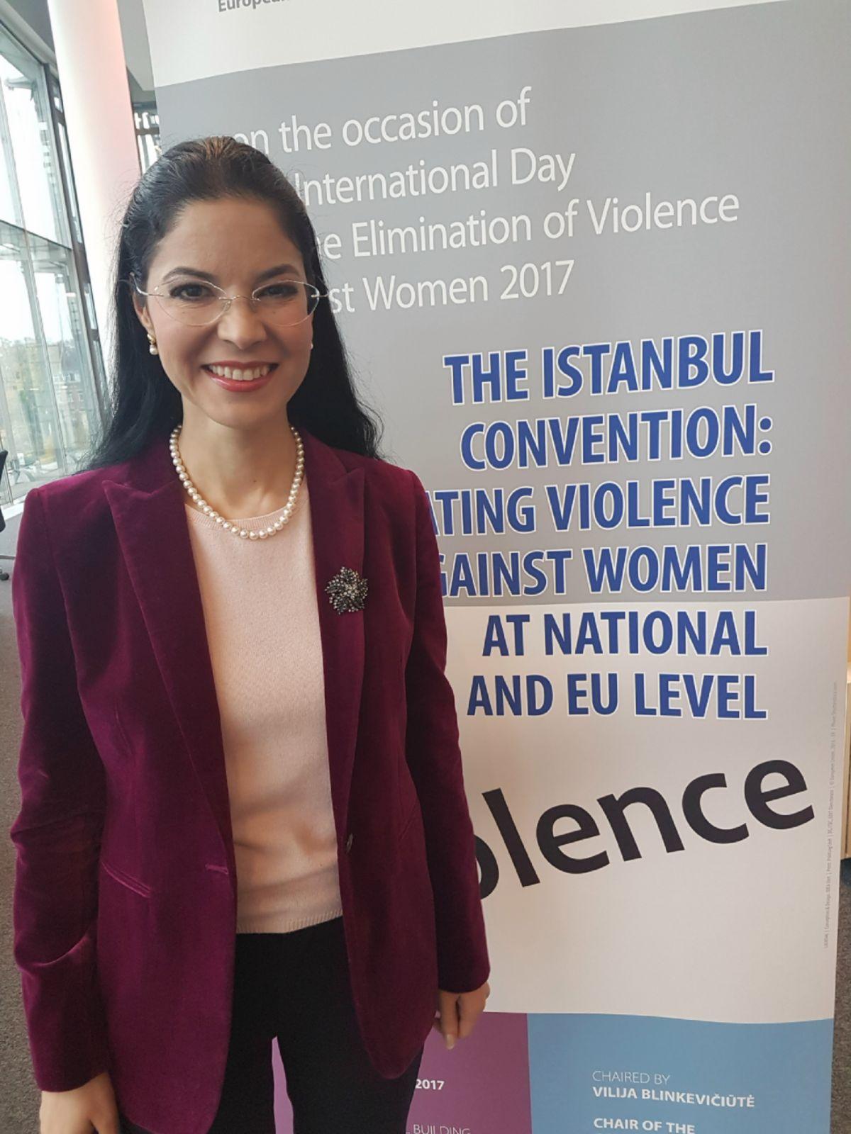 Ana Birchall: Violența împotriva femeilor și violența domestică reprezintă probleme de prim-plan la nivel european pe care avem datoria de a le gestiona cu maximă responsabilitate