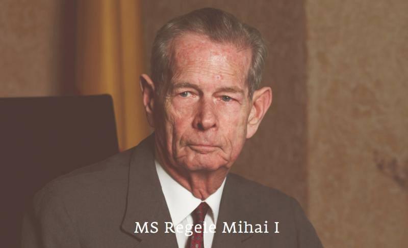 Dumnezeu să-l odihnească în pace pe Majestatea Sa, Regele Mihai
