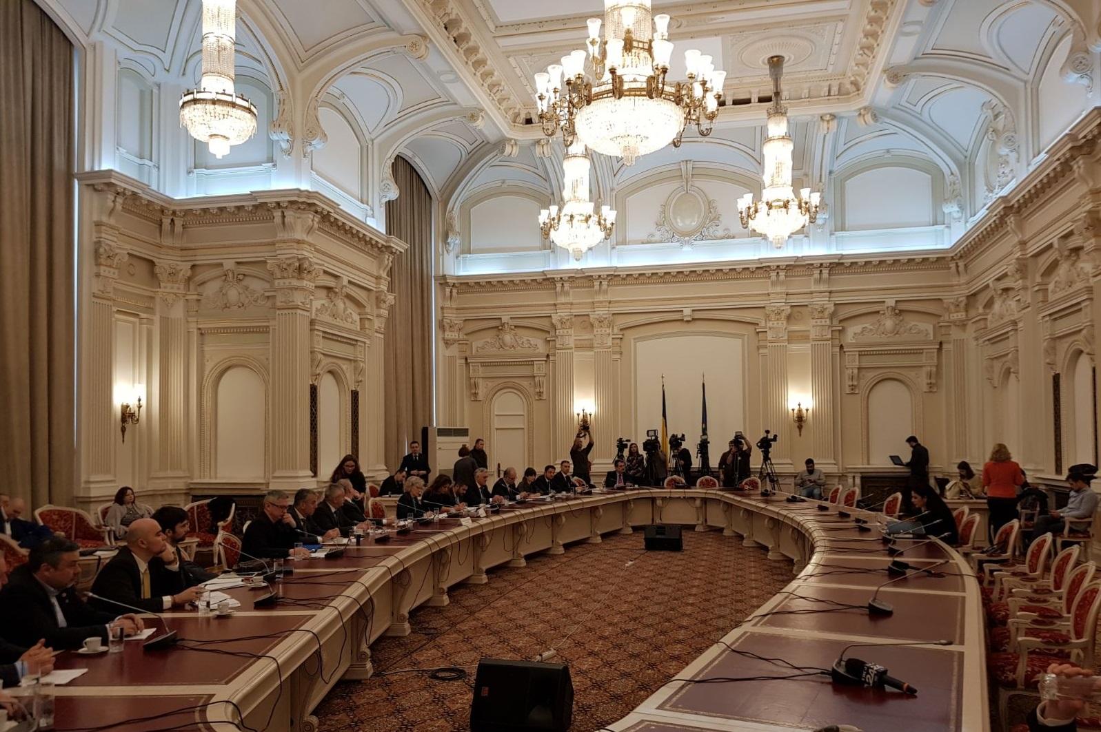 A început audierea în ședința Comisiilor reunite pentru politică externă