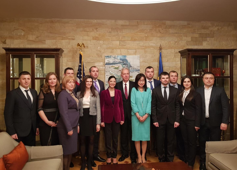 """Alături de  delegația din Republica Moldova participantă la dezbaterea pe tema prevenirii și combaterii traficului de persoane """"Executive Leadership in the Response to Trafficking in Persons"""""""