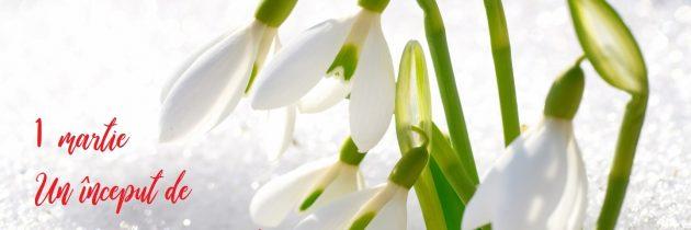 Un început de primăvară frumoasă!