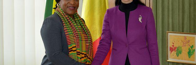 România, în calitate de stat membru al UE, va sprijini în continuare obiectivele Ghanei de bună guvernare și dezvoltare