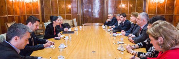 Viceprim-ministrul Ana Birchall a discutat cu reprezentanții AmCham despre perspectivele aprofundării Parteneriatului Strategic cu SUA pe dimensiunea economică
