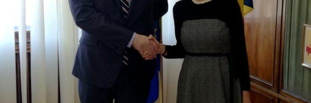 Întrevedere cu președintele Centrului pentru Analiza Politicilor Europene (CEPA), domnul Peter Doran