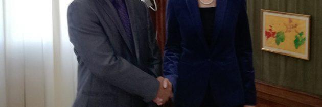 Întrevedere cu E.S. Thanglura Darlong, ambasadorul Republicii India la București