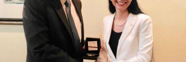 Viceprim-ministrul Ana Birchall, demersuri pentru obținerea sprijinului statelor CARICOM în perspectiva candidaturii României pentru mandatul de membru nepermanent în cadrul Consiliului de Securitate al ONU
