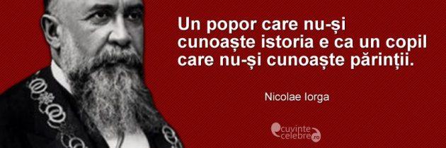 147 de ani de la nașterea lui Nicolae Iorga