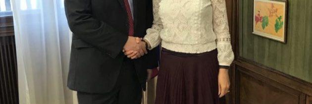 Viceprim-ministrul Ana Birchall l-a primit în vizită de rămas-bun pe Paul Brummel, ambasadorul Marii Britanii la București