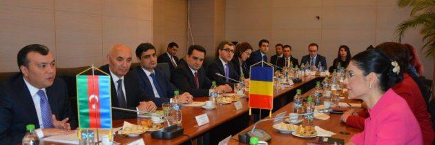 Ana Birchall: Reluarea activității Comisiei Mixte Interguvernamentale de cooperare economică româno-azeră este un punct de referință în evoluția parteneriatului nostru strategic