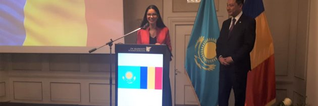 Recepția oferită de Ambasada Republicii Kazahstan la București, cu ocazia Zilei Naționale a Republicii Kazahstan