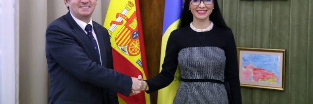 Primirea ambasadorului Regatului Spaniei la București, Manuel Larrotcha Parada
