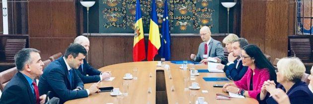 Întrevedere cu ministrul Economiei și Infrastructurii al Republicii Moldova, domnul Chiril Gaburici
