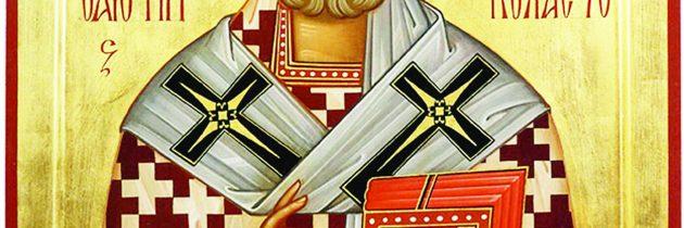 6 decembrie – Sfântul Nicolae