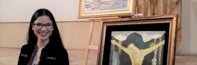 """Participare la expoziția """"Pictori români în Franța"""""""