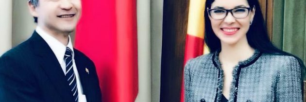 Întrevedere cu domnul Hitoshi Noda, ambasadorul Japoniei în România