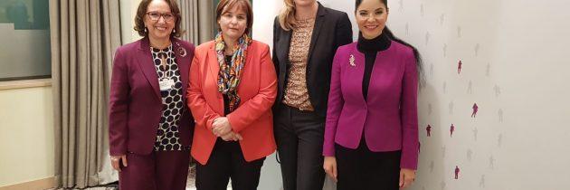 La începutul întâlnirii Femeilor Lideri Politici (Women Political Leaders – WPL), în marja Forumului Economic Mondial de la Davos
