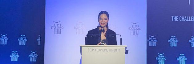 Ana Birchall la Forumul Economic de la Delphi: Regiunea Mării Negre prezintă oportunități uriașe de investiții pentru dezvoltarea infrastructurii, inclusiv pentru transportul și producția de energie