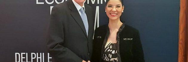 Întrevedere cu Geoffrey Pyatt, ambasadorul SUA în Republica Elenă