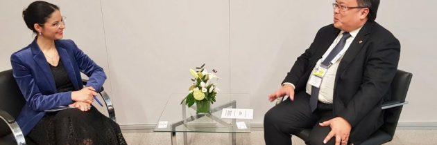 Întrevedere cu ministrul pentru planificarea dezvoltării naționale al Republicii Indonezia