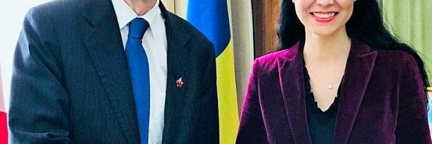 Întâlnire de lucru cu domnul Stéphane Dion, reprezentantul special pe lângă UE și Europa al prim-ministrului canadian