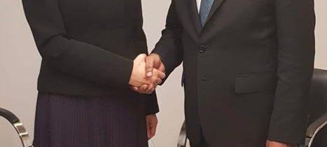 Întrevedere cu Abdulla Shahid, ministrul de Externe din Maldive
