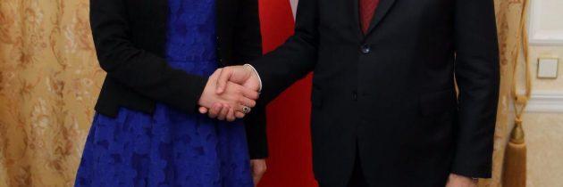 Întrevedere cu vicepreședintele Republicii Turcia, Fuat Oktay