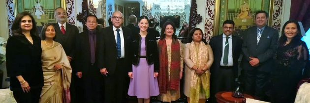 Întrevedere cu delegația de judecători din India, condusă de E.S. dl. Deepak Gupta