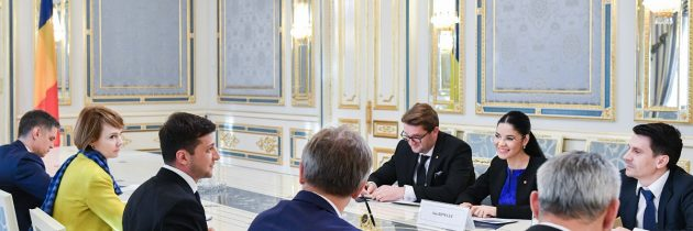 Viceprim-ministrul, ministru interimar al Justiției, Ana Birchall a participat la ceremonia de învestitură a președintelui ales al Ucrainei, Volodimir Zelenski