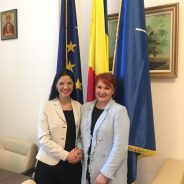 Întrevedere cu Clare Hutchinson, Reprezentant Special al Secretarului General al NATO pentru problematica de gen