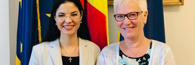 Întrevedere cu Åsa Lindestam, prim-vicepreședinte al Parlamentului Suediei