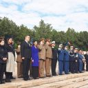 Ceremonia la Monumentul Eroilor Patriei