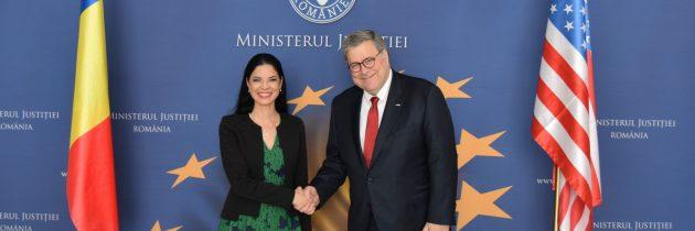 """Ana Birchall: """"Cooperarea România – SUA în domeniul justiției reprezintă o componentă importantă în dezvoltarea și aprofundarea Parteneriatului Strategic dintre cele două state."""""""