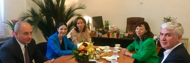 Întâlnire de lucru cu președintele Curții de Apel Ploiești și cu președintele Tribunalului Prahova