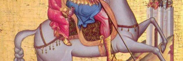 23 aprilie – Sfântul Mare Mucenic Gheorghe