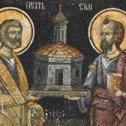 29 iunie – Sfinţii Apostoli Petru şi Pavel