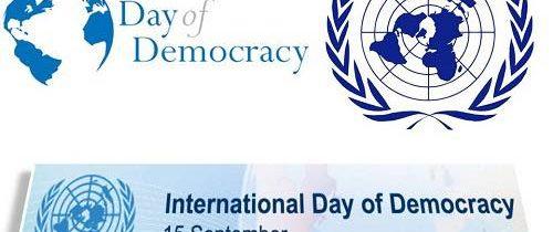 15 septembrie – Ziua Internațională a Democrației